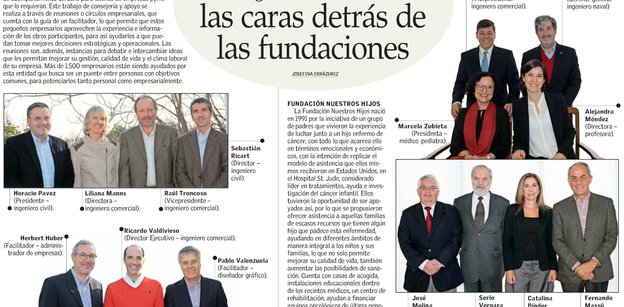29 de agosto. Foco Social El Mercurio